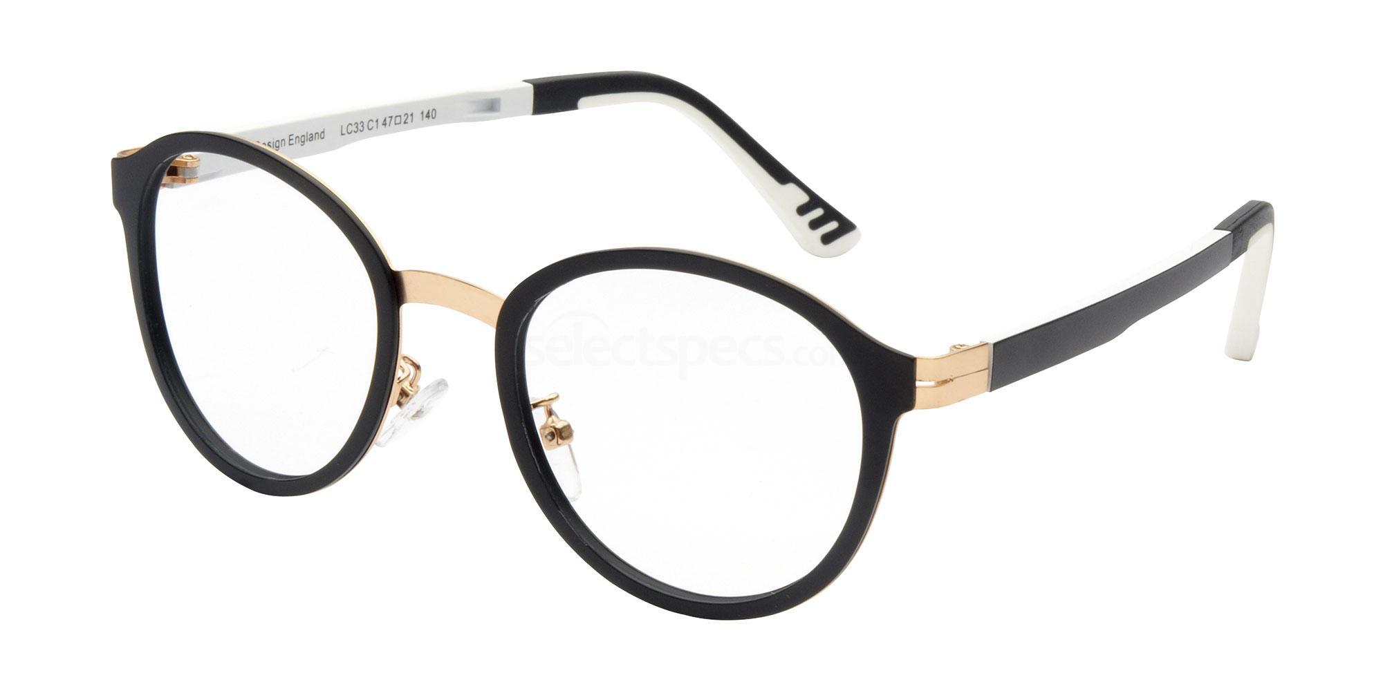 C1 LC33 Glasses, London Club