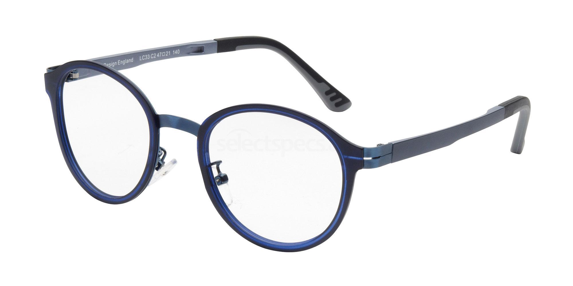 C2 LC33 Glasses, London Club