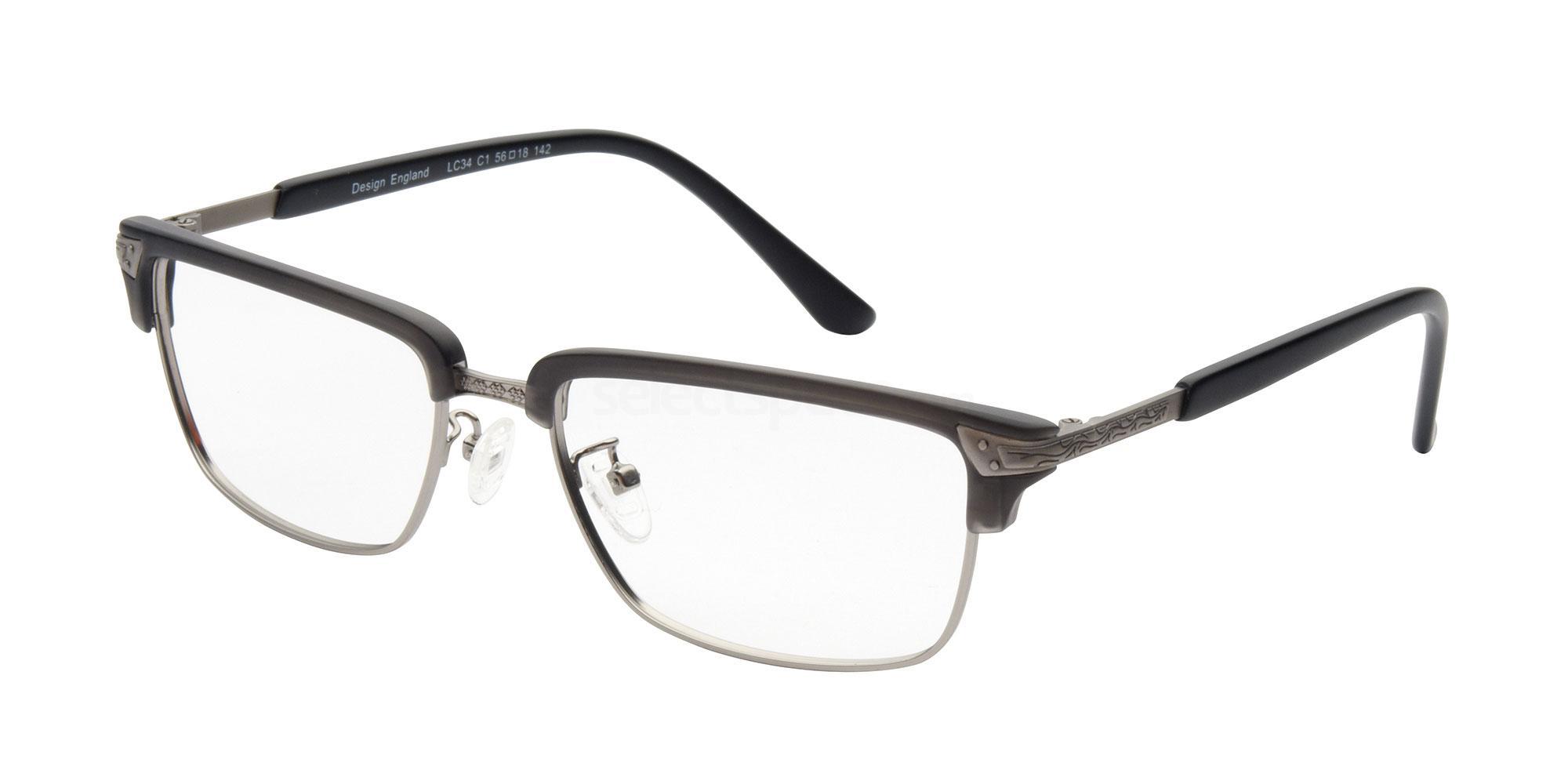 C1 LC34 Glasses, London Club