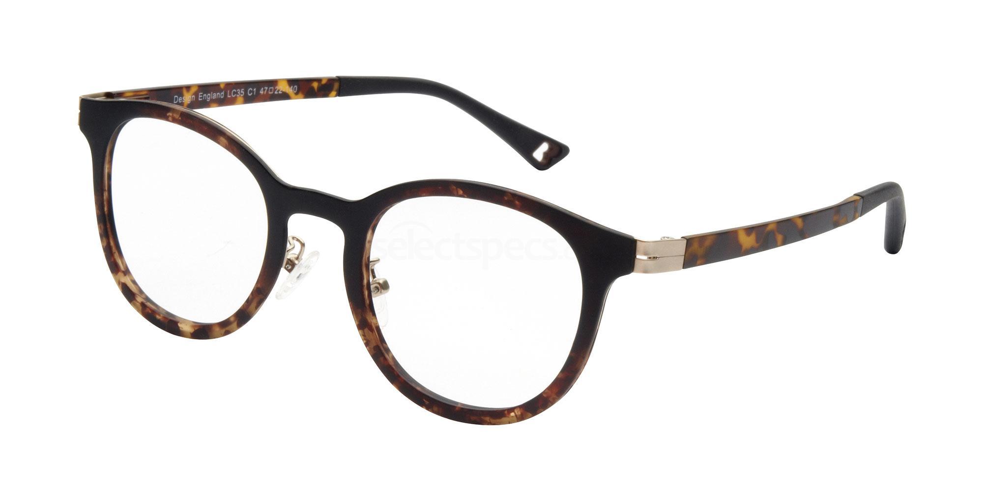 C1 LC35 Glasses, London Club