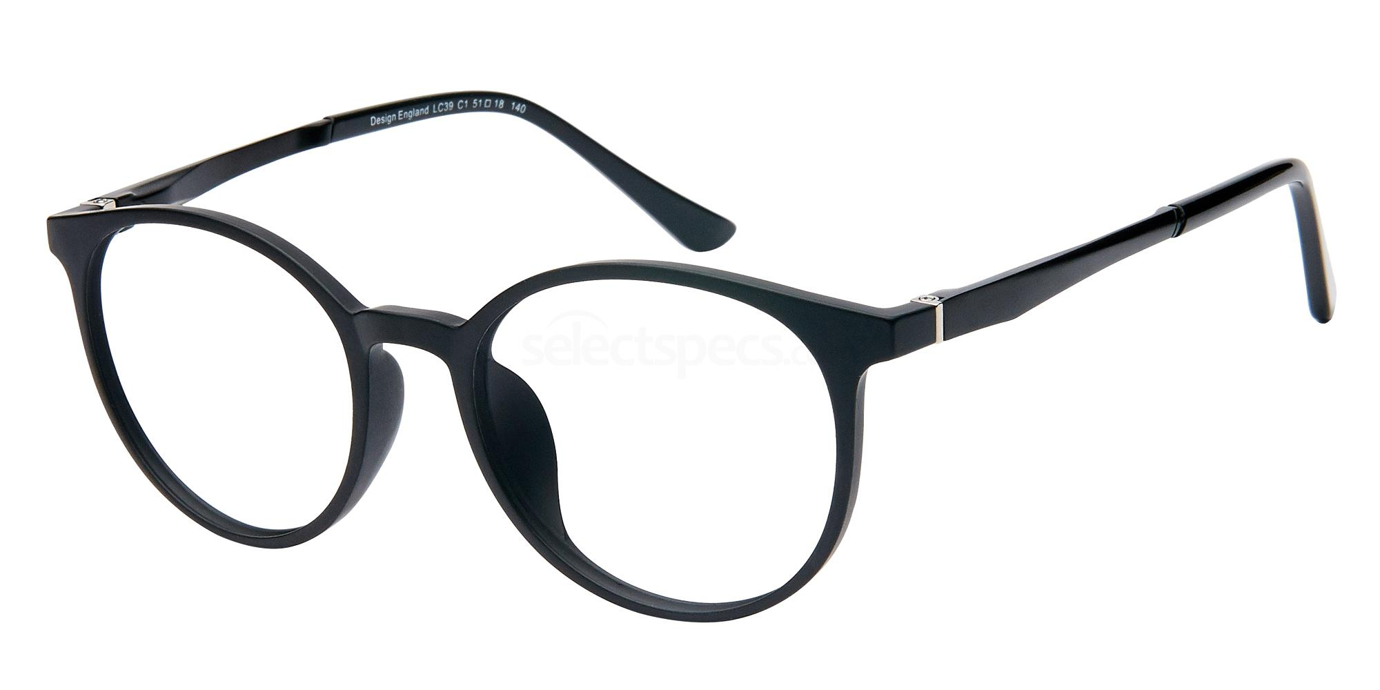 C1 LC39 with Clip On Glasses, London Club