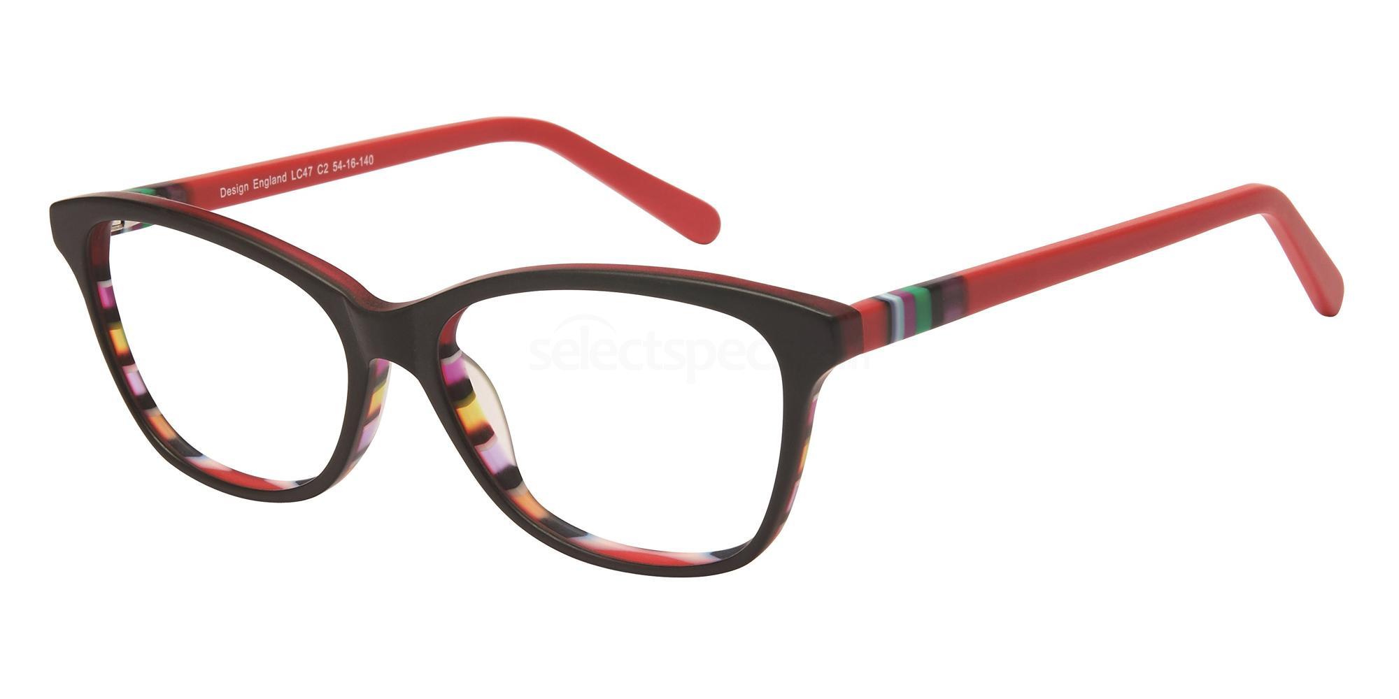 C2 LC47 Glasses, London Club