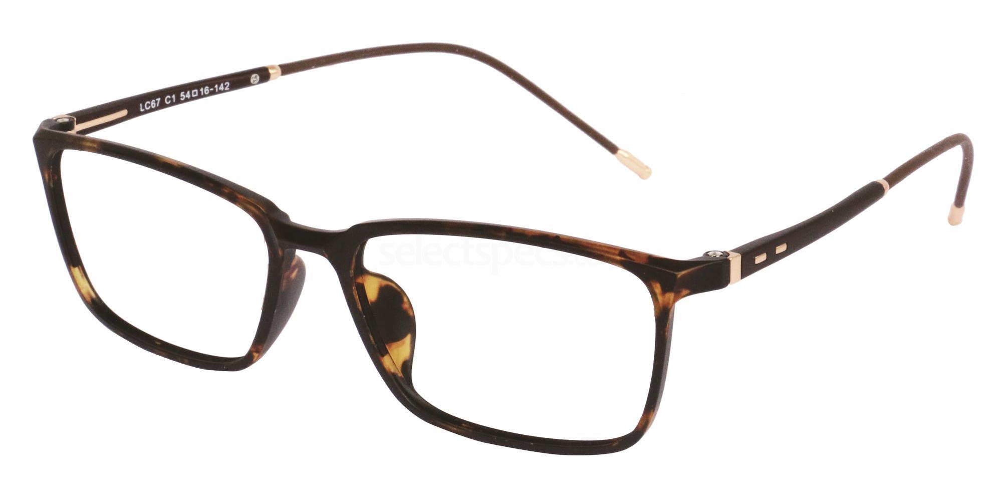 C1 LC67 Glasses, London Club