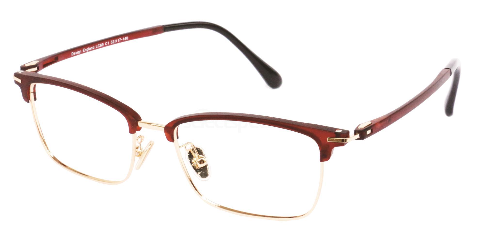 C1 LC69 Glasses, London Club
