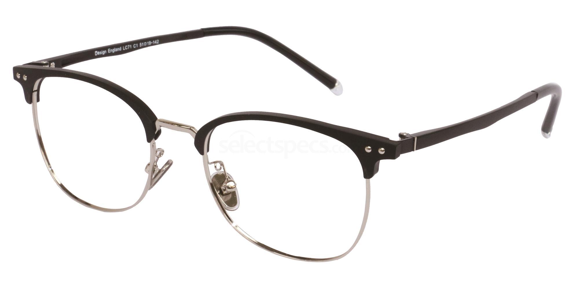 C1 LC71 Glasses, London Club