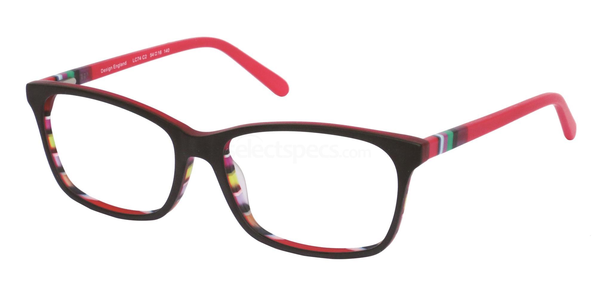 C2 LC74 Glasses, London Club