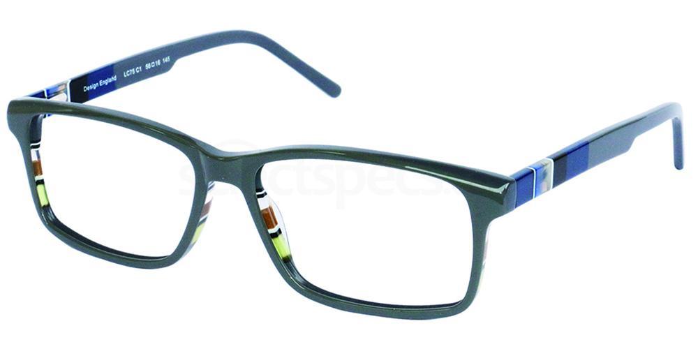C1 LC75 Glasses, London Club