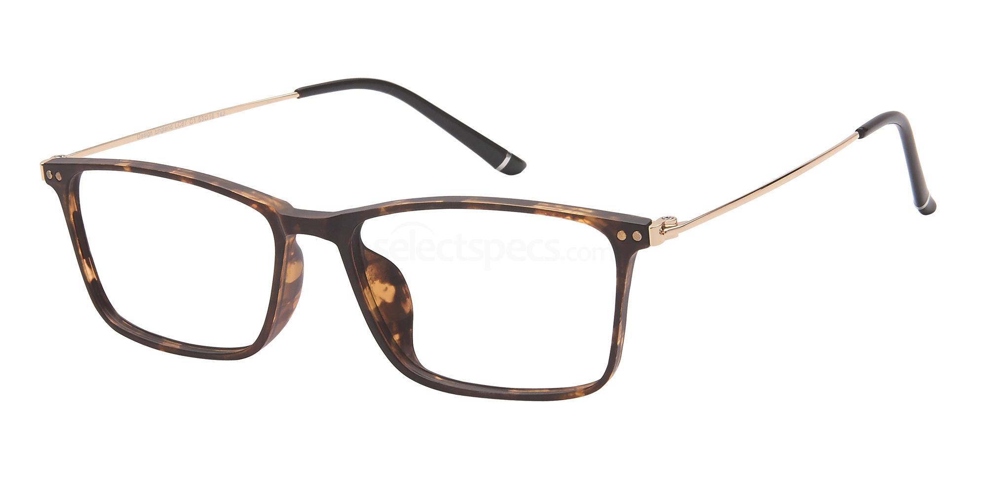 C1 LC87 Glasses, London Club