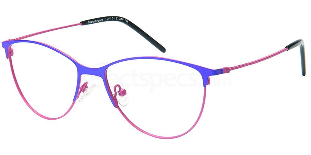 C1 LC97 Glasses, London Club
