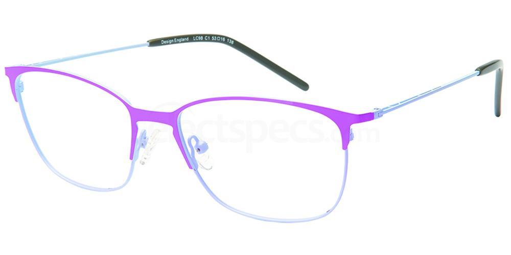 C1 LC98 Glasses, London Club