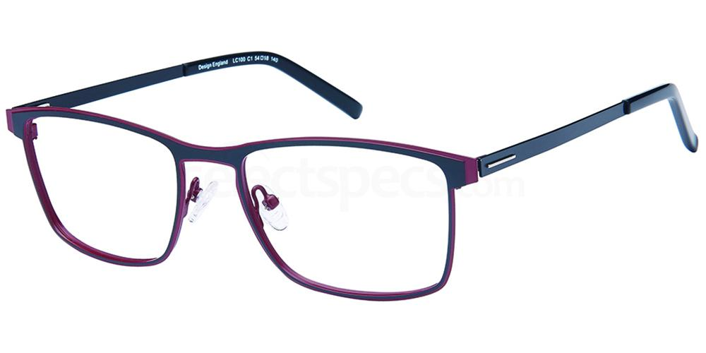 C1 LC100 Glasses, London Club
