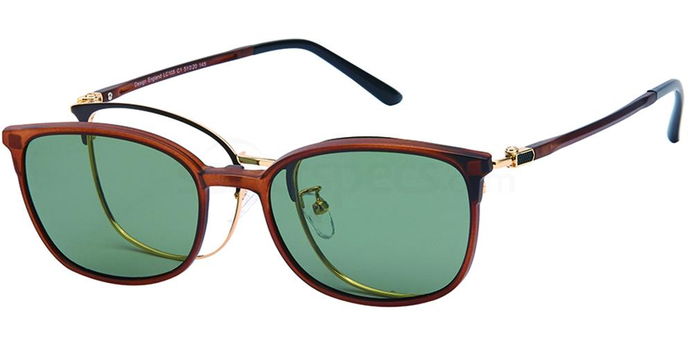 C1 LC105 - with Clip On Glasses, London Club