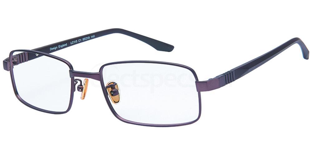 C1 LC115 Glasses, London Club