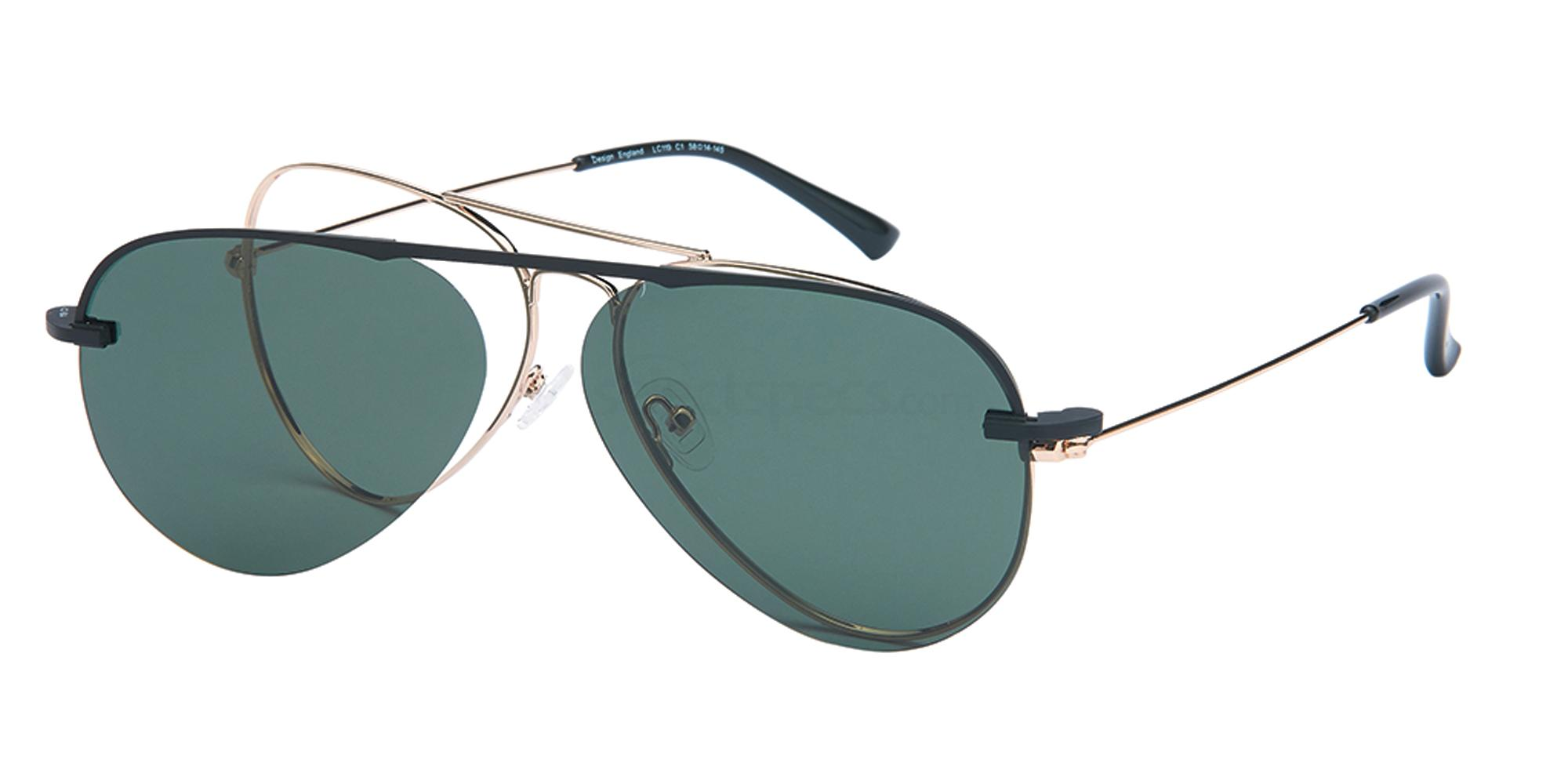 C1 LC119 - with Clip On Glasses, London Club