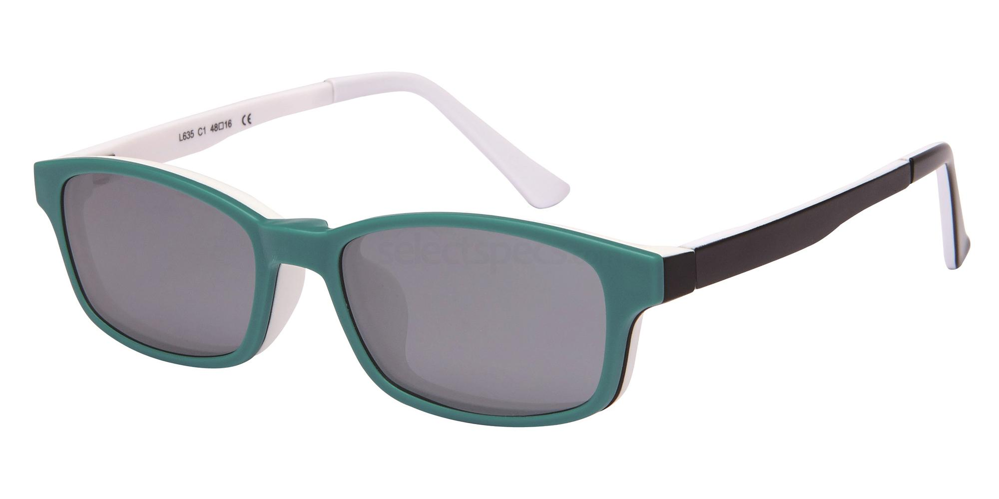 C1 L 635 - With Clip on Glasses, Loox