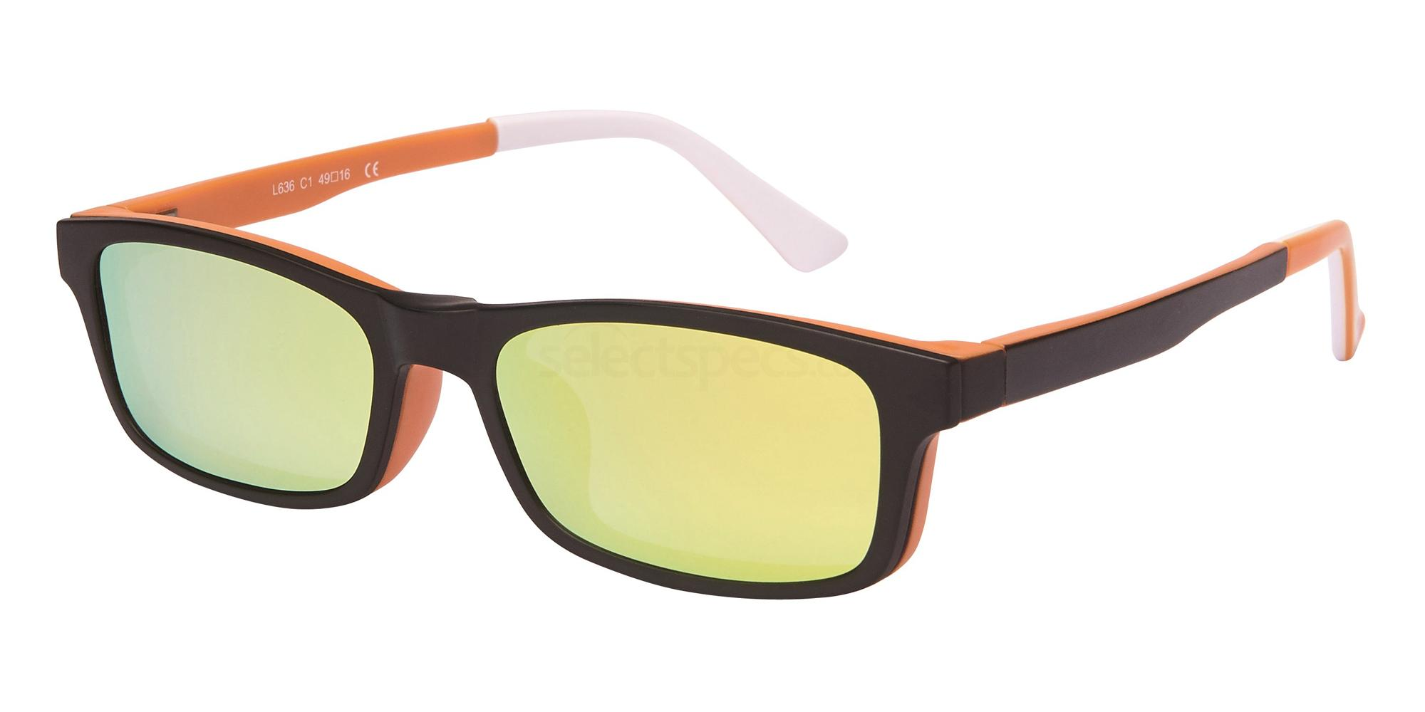 C1 L 636 - With Clip on Glasses, Loox
