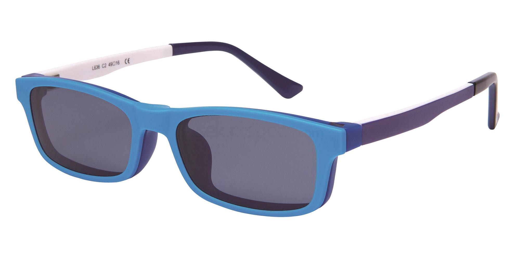C2 L 636 - With Clip on Glasses, Loox