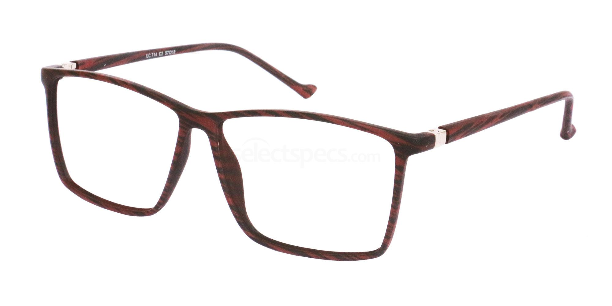 C2 UC714 Glasses, Univo Core