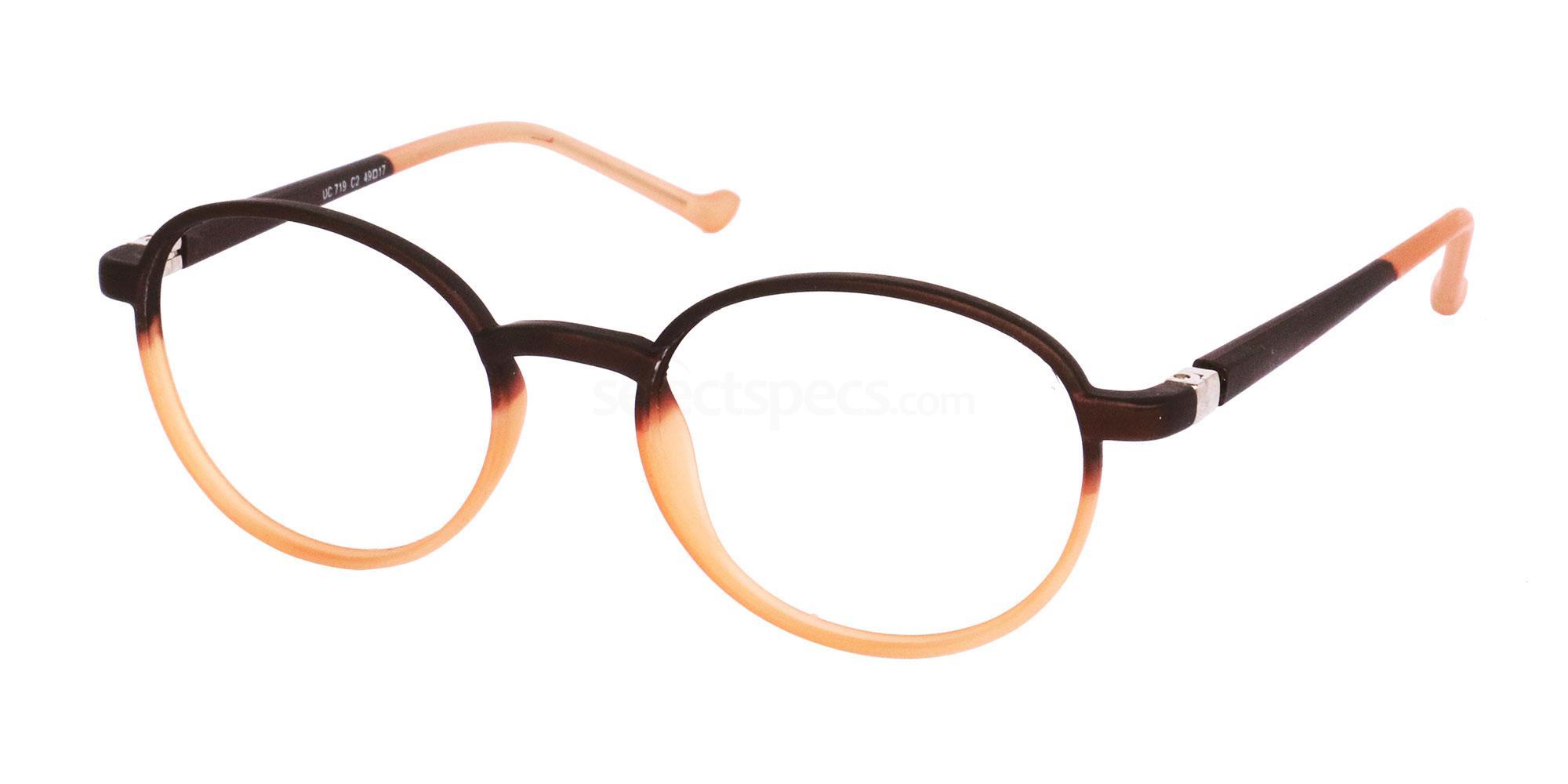 C2 UC719 Glasses, Univo Core