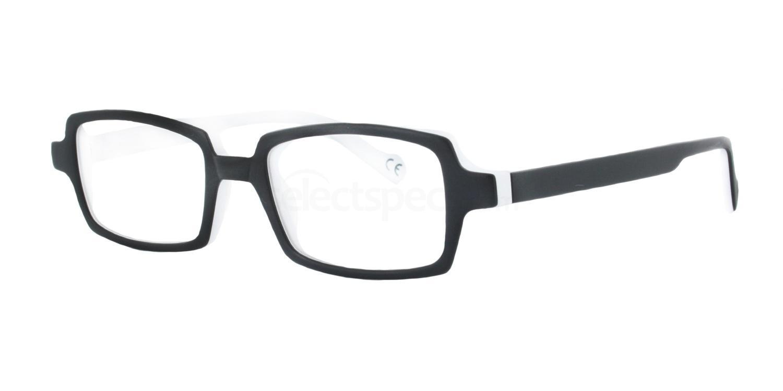 Black and White Karen Glasses, Antares