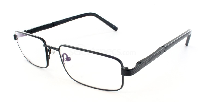 Black 1246 Glasses, Antares