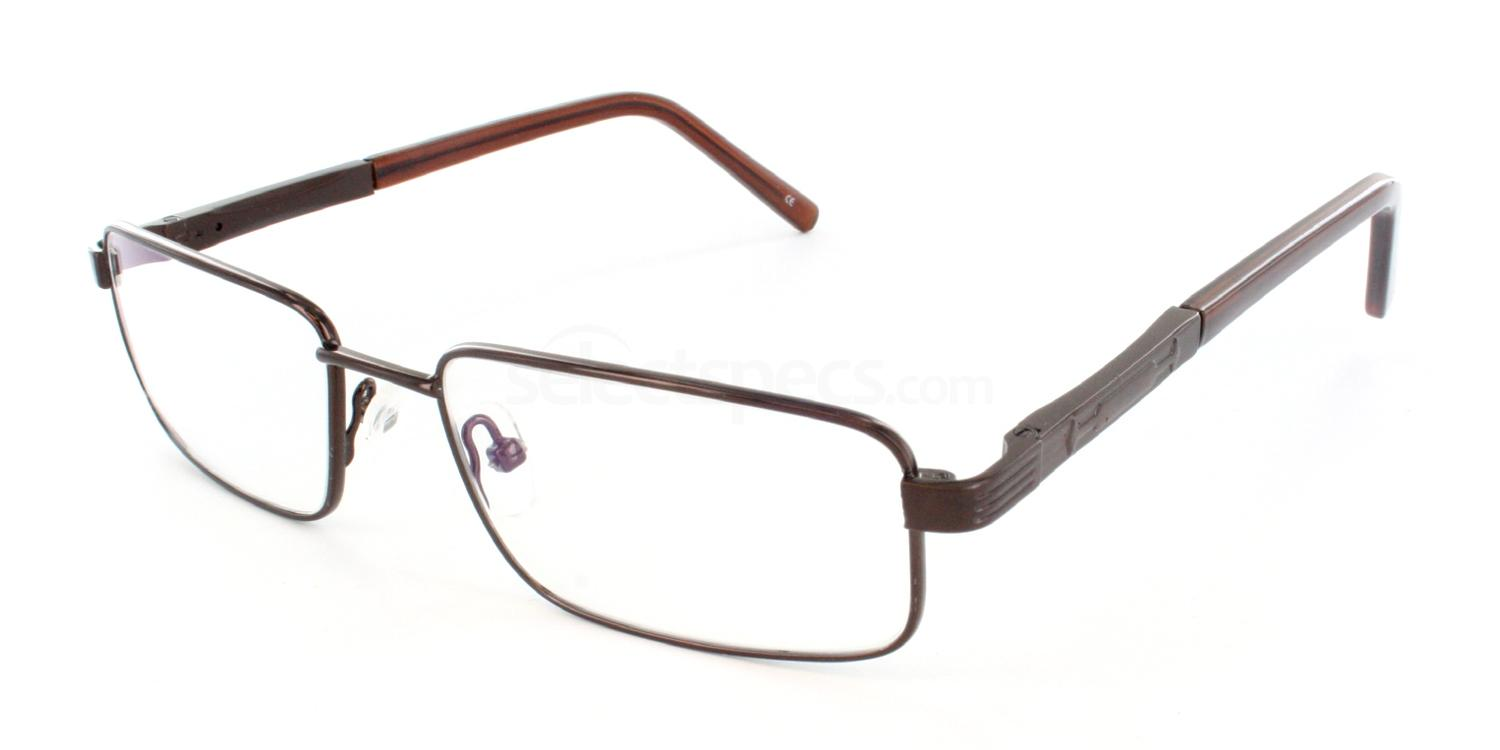 Brown 1246 Glasses, Antares