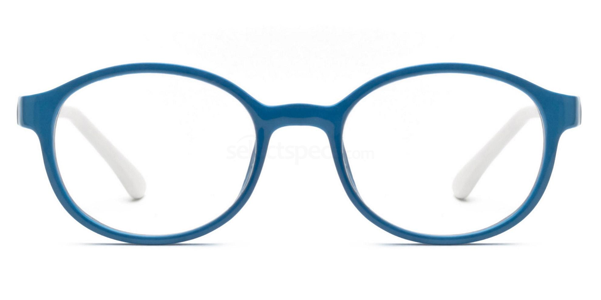 Blue/White P6185 Glasses, SelectSpecs