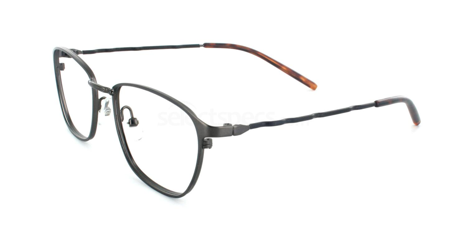 Dark Gunmetal 9360 Glasses, Infinity