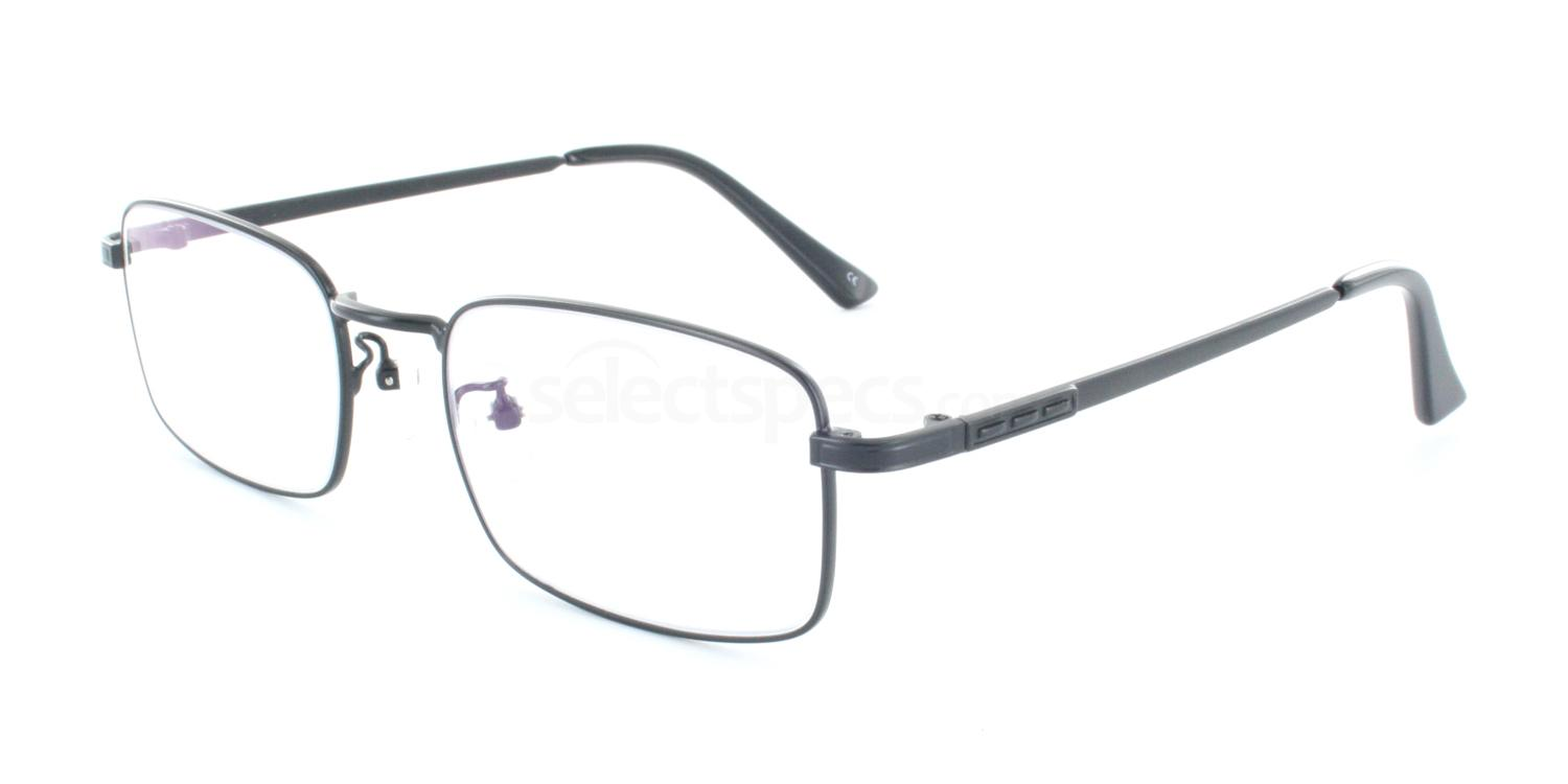 Black 1092 Glasses, Infinity