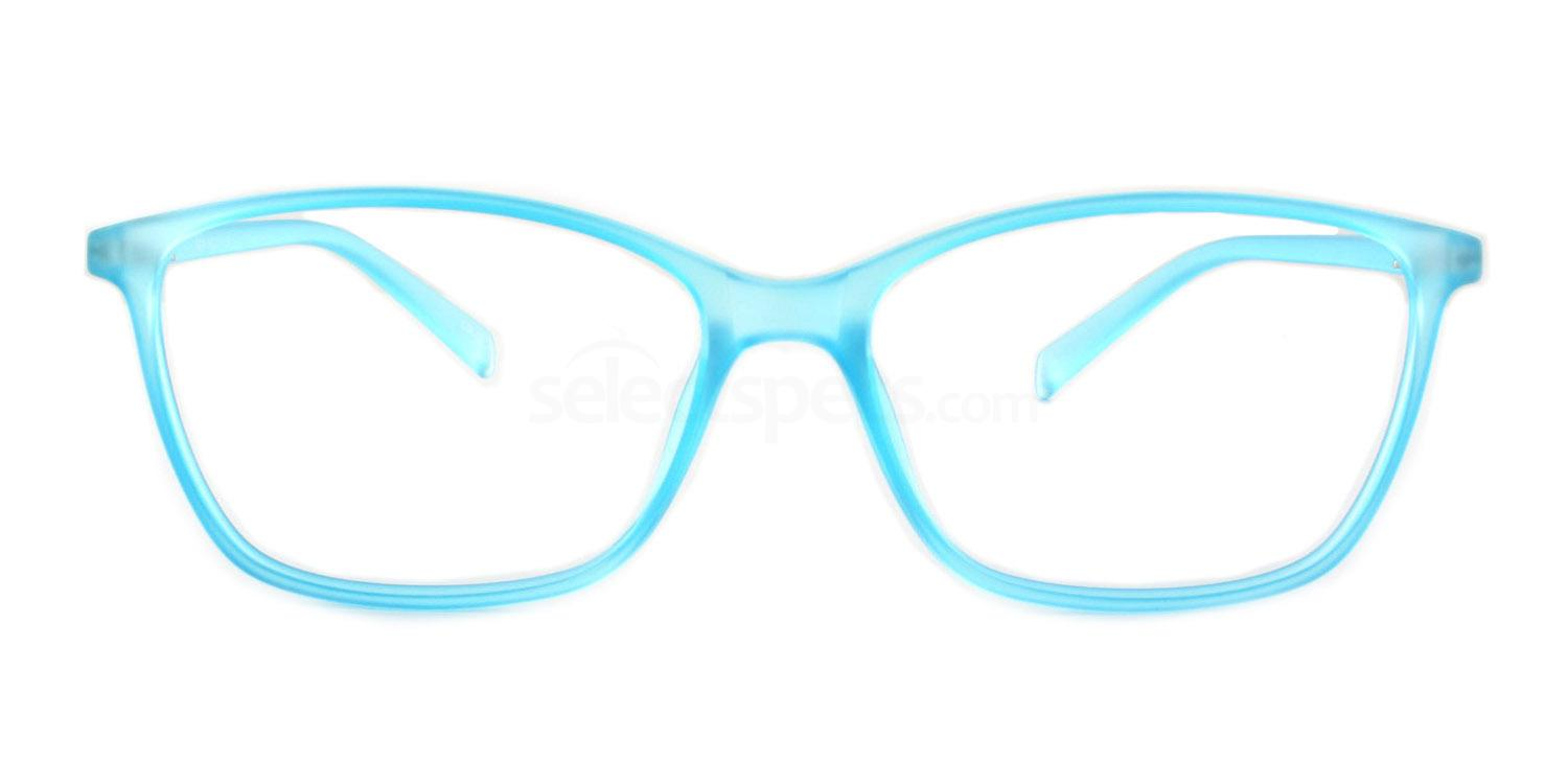 Clear Pale Blue R604 Glasses, Infinity