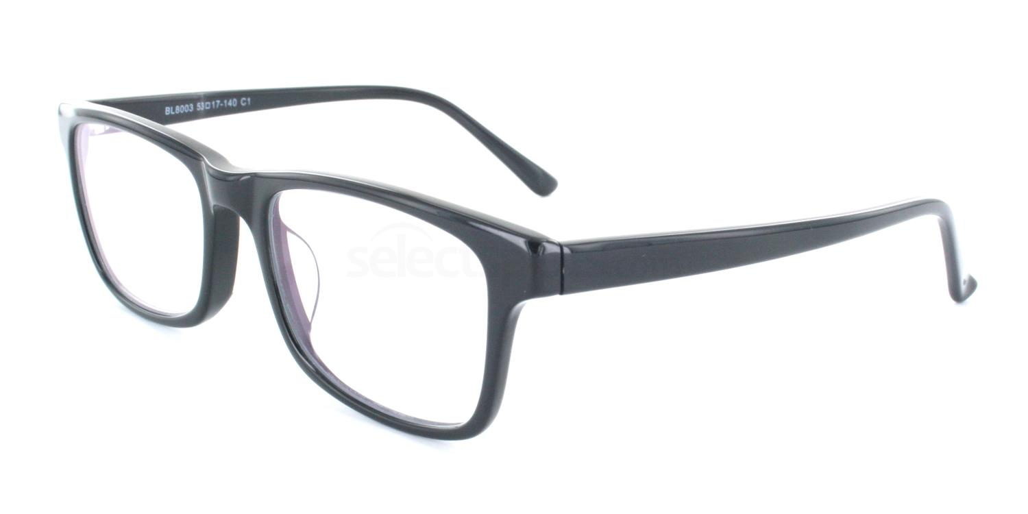 Black BL8003 Glasses, SelectSpecs