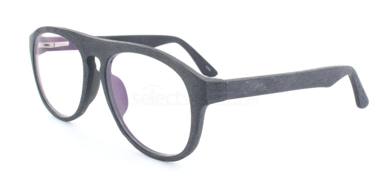 C001 A2101 Wood Effect Glasses, Infinity