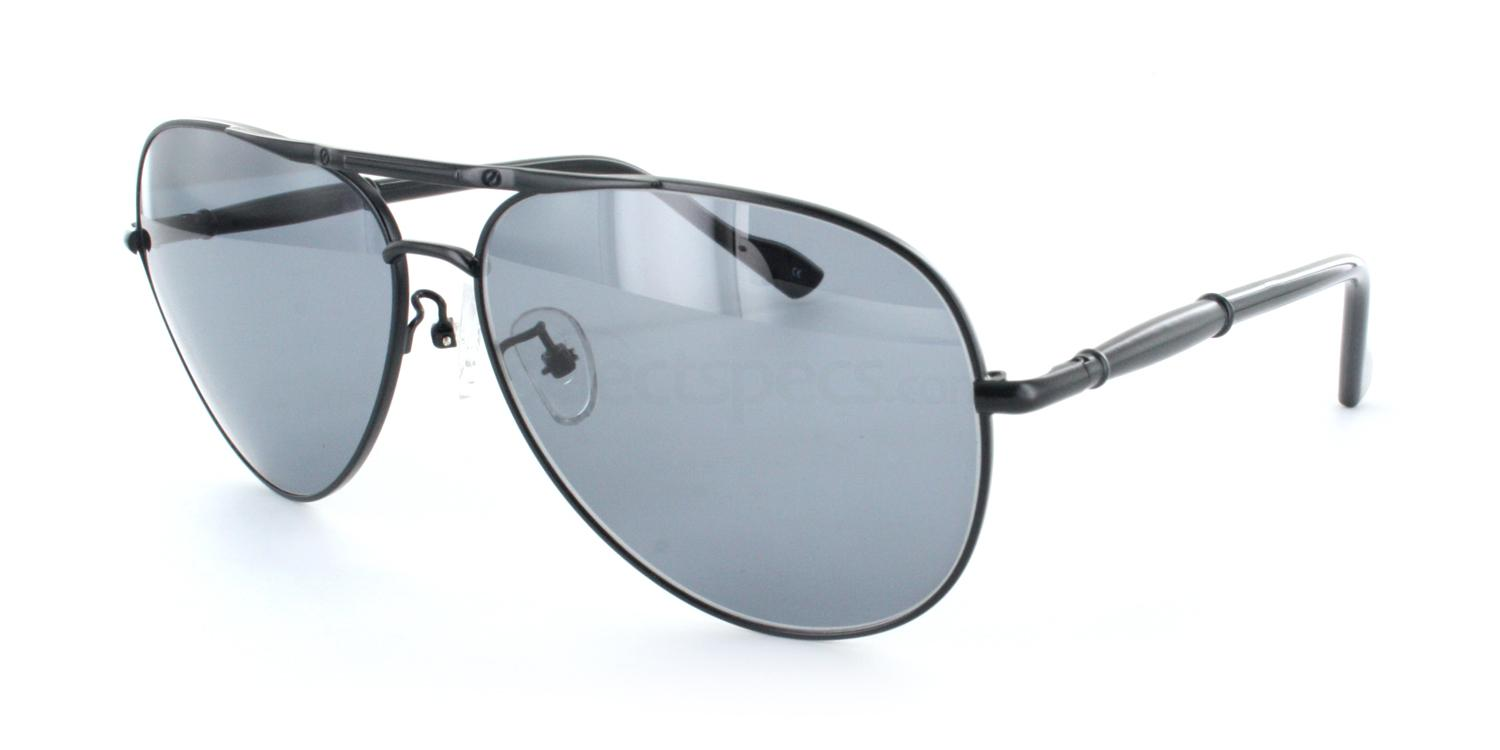 Black S2370 Sunglasses, Infinity