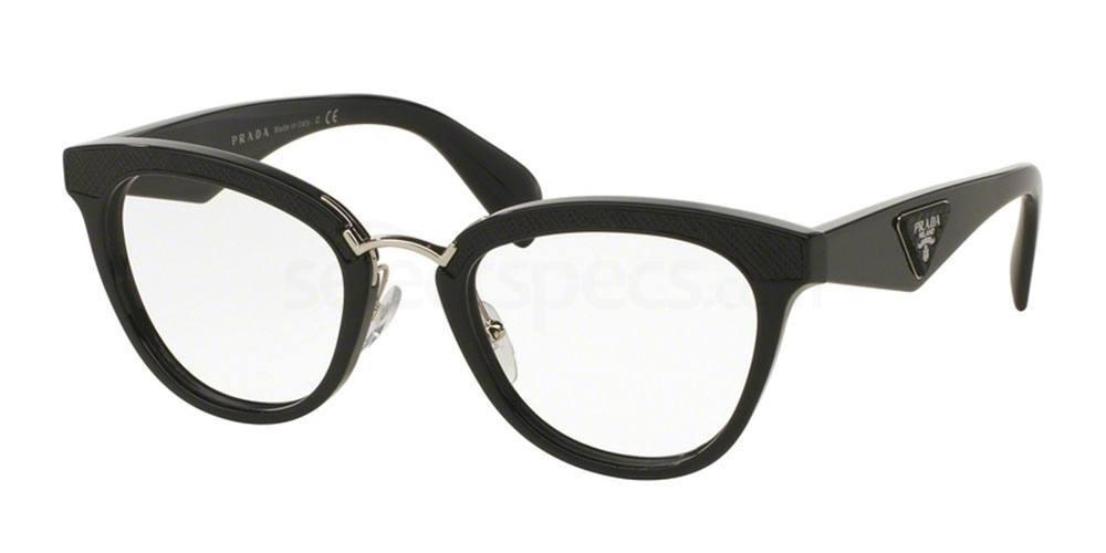 prada glasses black geek chic