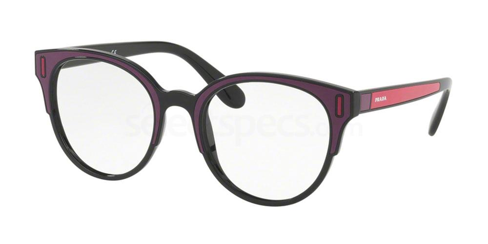 SSA1O1 PR 08UV Glasses, Prada