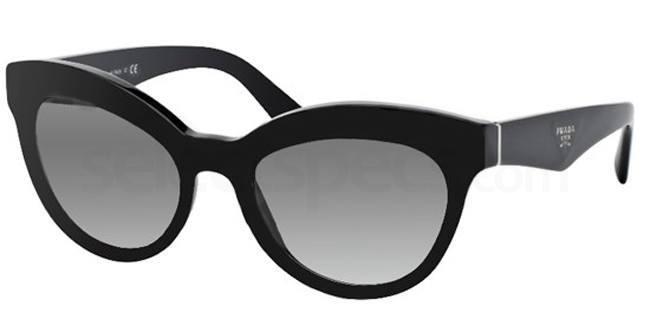 1AB0A7 PR 23QS Sunglasses, Prada