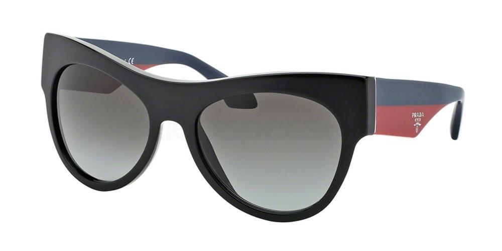 TKE0A7 PR 28QS Sunglasses, Prada