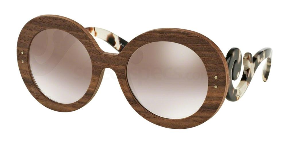 prada raw wooden sunglasses