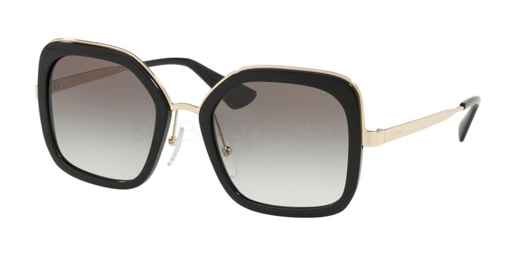 1AB0A7 PR 57US Sunglasses, Prada