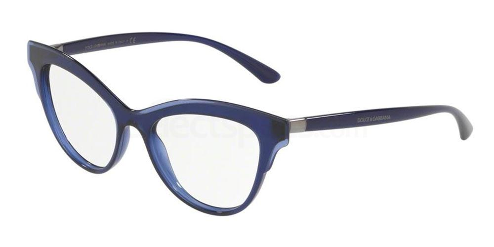 classic blue prescription glasses pantone trend  Dolce & Gabbana