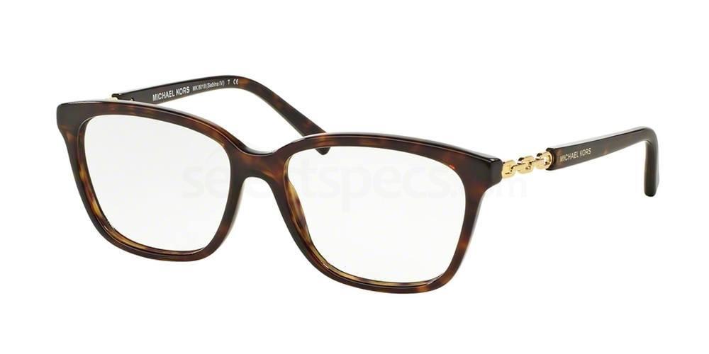 3106 MK8018 SABINA IV Glasses, MICHAEL KORS