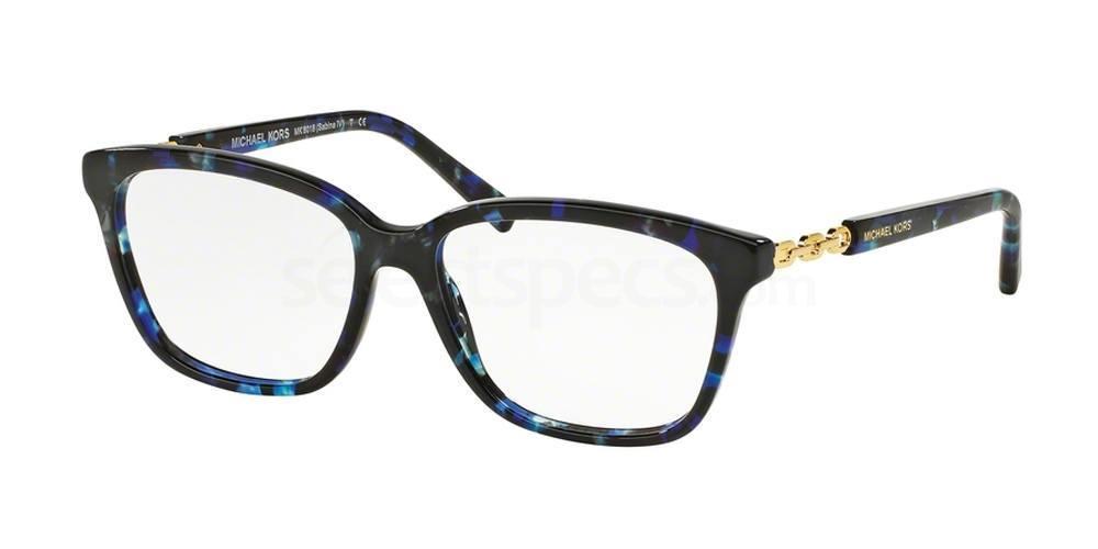 3109 MK8018 SABINA IV Glasses, MICHAEL KORS