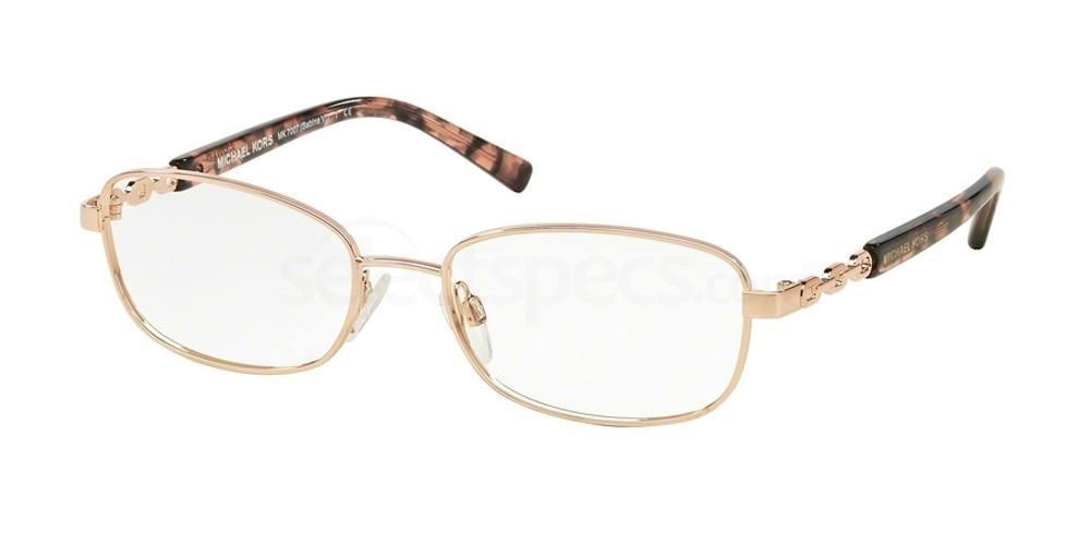 1026 MK7007 SABINA VI Glasses, MICHAEL KORS