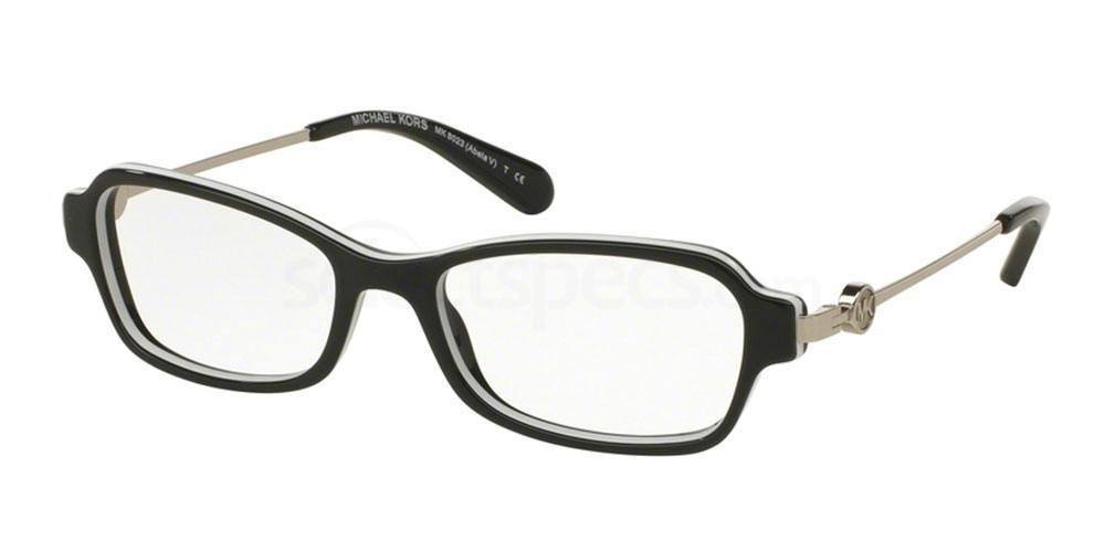 3129 MK8023 ABELA V Glasses, MICHAEL KORS