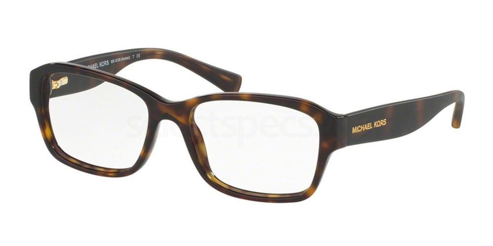 3207 MK4036 ANDREI Glasses, MICHAEL KORS