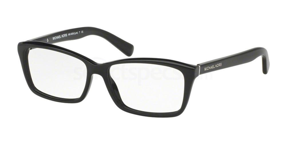 3177 MK4038 LYRA Glasses, MICHAEL KORS