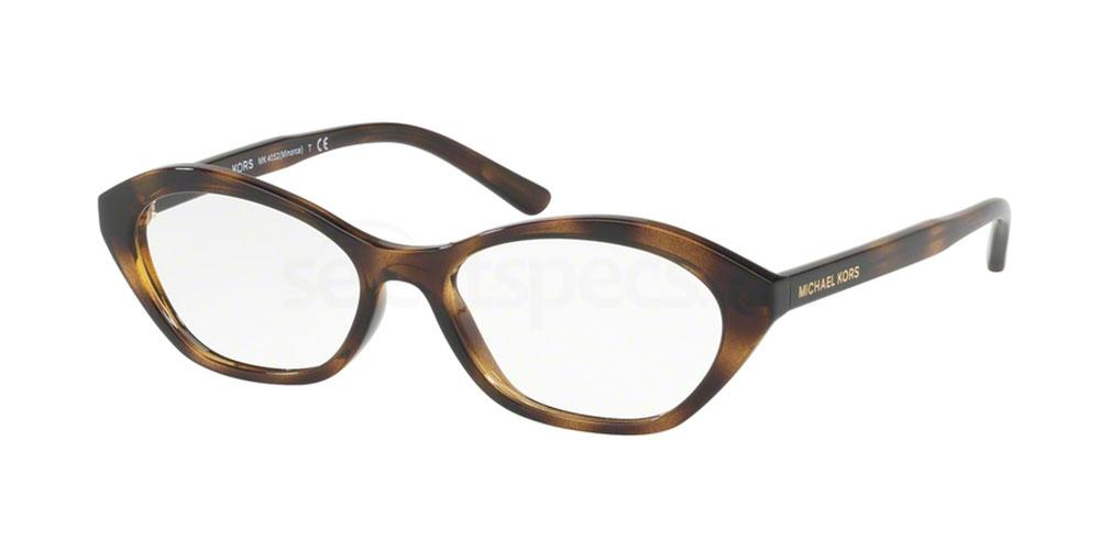 3285 MK4052 MINORCA Glasses, MICHAEL KORS