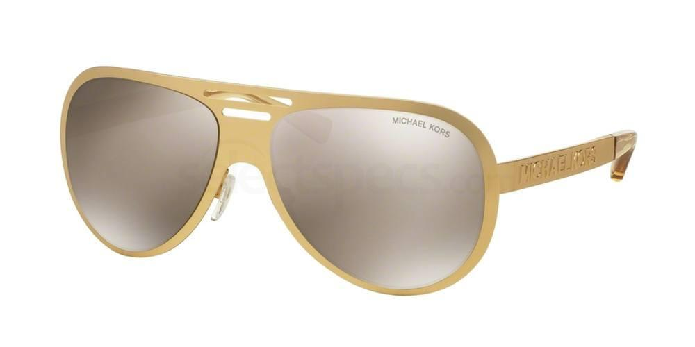 gold metallic sunglasses michael kors
