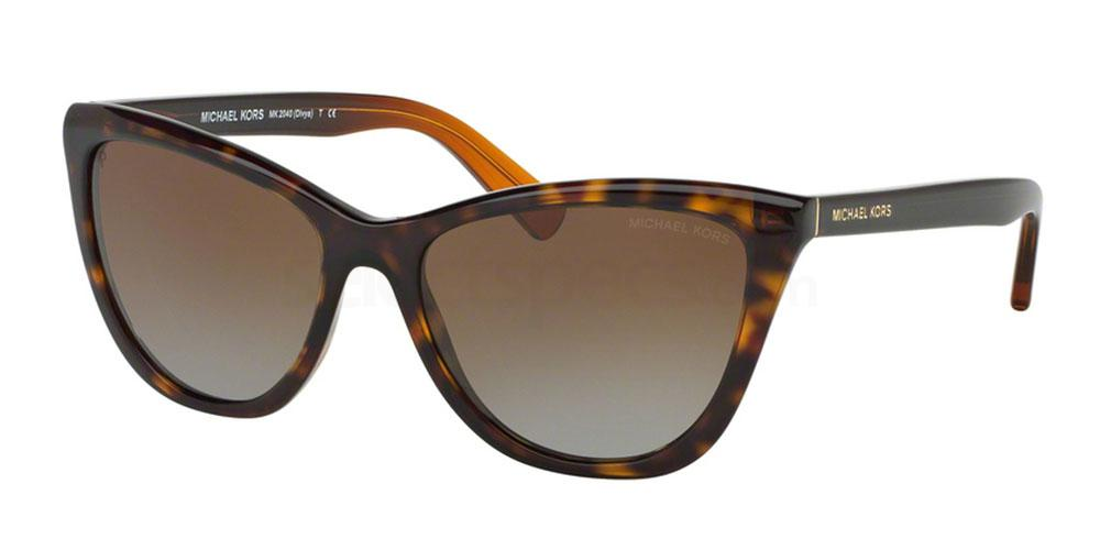Cat eye havana Michael Kors sunglasses