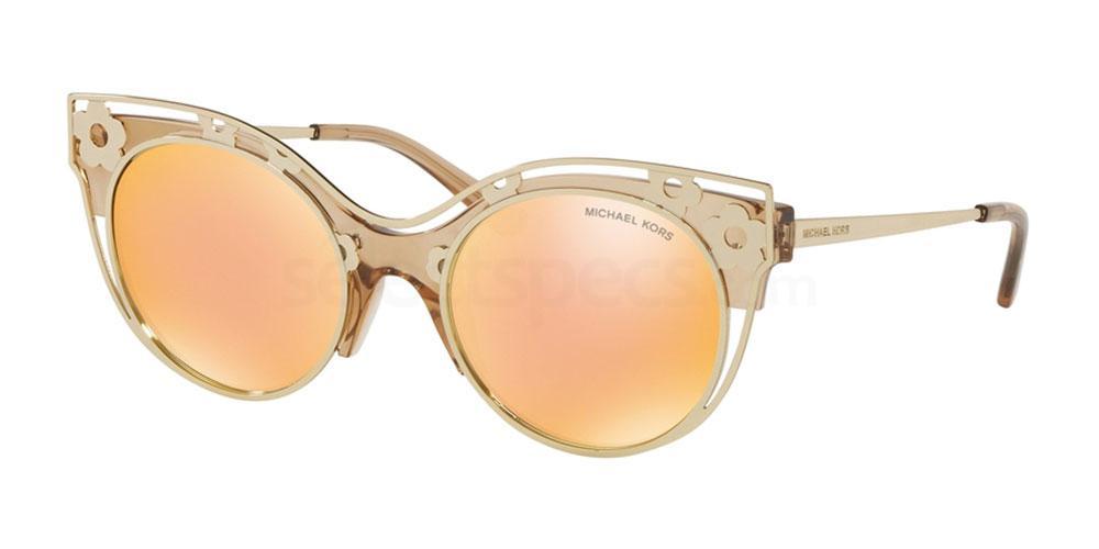 gold metal sunglasses trend 2019 laser cut floral